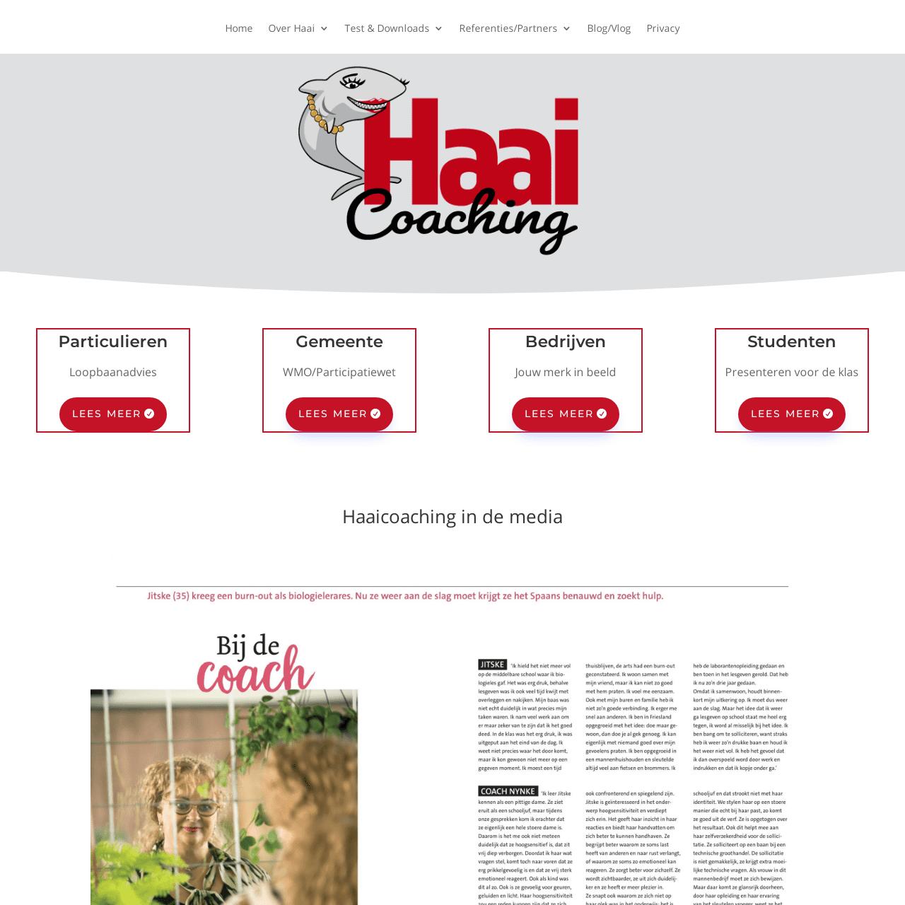 Haaicoaching site